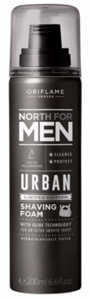 Пена для бритья North for Men Urban 34906